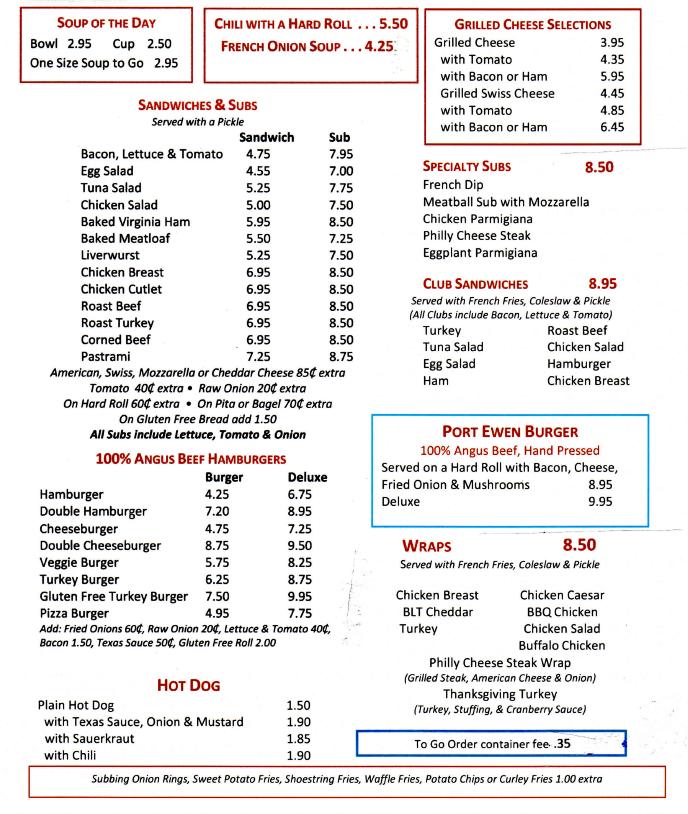port-ewen-diner-sandwiches-menu